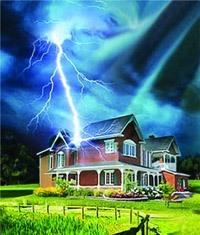 Молниезащита зданий, молниеприемник г.Челябинск